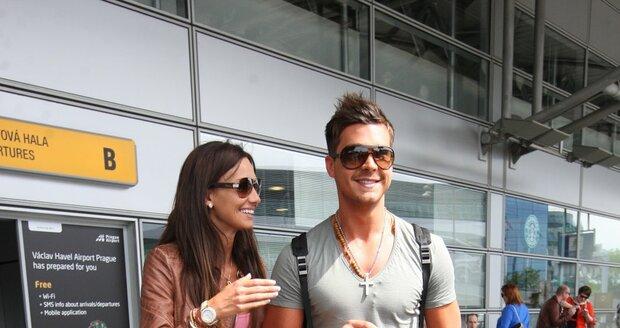Na první dovolenou se Bučková s Malinou velmi těšili.