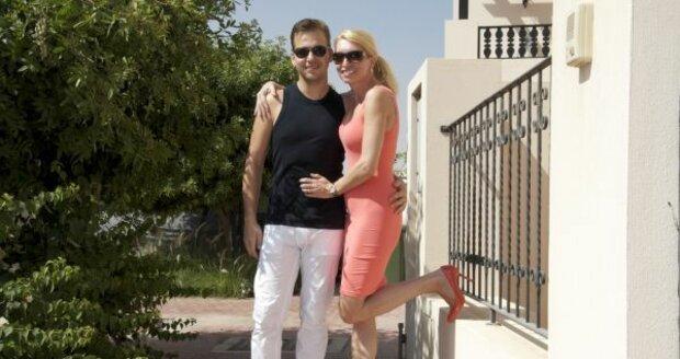 Martin a Ivone na dovolené v Dubaji
