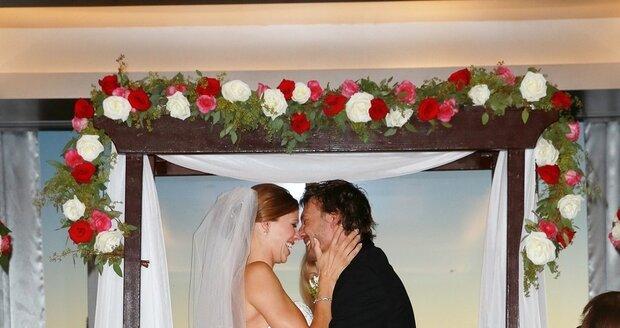Kevin Federline (35) si o víkednu v Las Vegas vzal svou přítelkyní Victorii Prince (30).