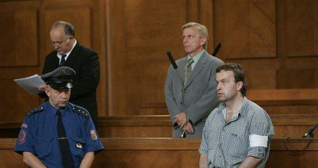 Petr Zelenka při vynesení rozsudku