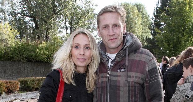 Tereza Pergnerová a její přítel Jiří Chlebeček