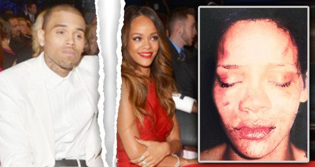 Agresivní Chris Brown zmlátil Rihannu a po porušení podmínky šel sedět