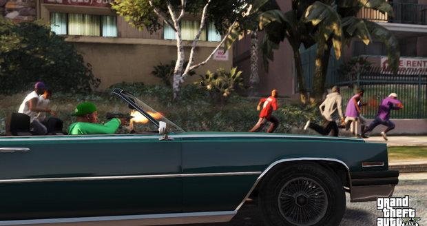 Na ulicích Los Santos můžete rozpoutat hotové peklo