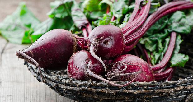 Červená řepa je u Mančingové naprostým dietním hitem.