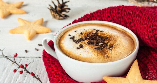 Vánoční káva vás zahřeje a navíc vám omamně provoní celý byt