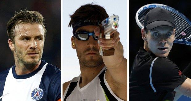 Podívejte se na sportovce, kteří mají nejen talent, ale také neskutečný sexappeal.