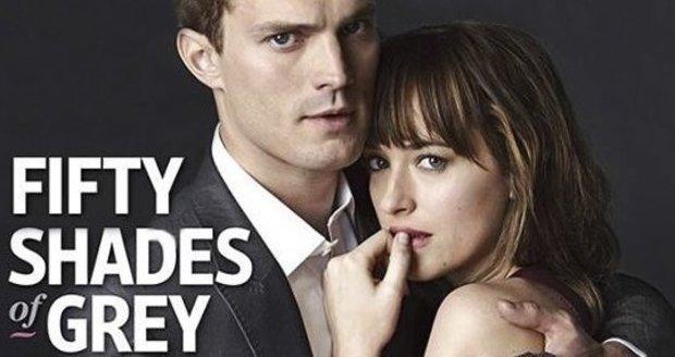 Padesát odstínů šedi bude mít v Čechách premiéru 12. února 2015.