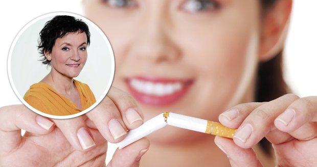 Redaktorka Majka se rozhodla přestat kouřit. Přečtěte si, jak to probíhá.