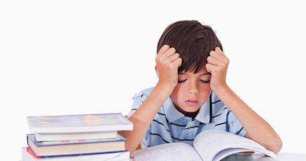 Porucha učení neznamená, že dítě není chytré