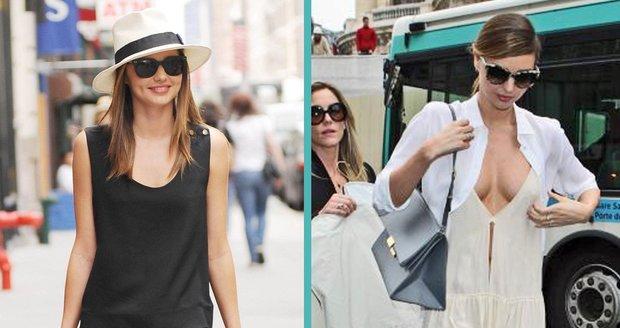 Miranda Kerr před a po, posuďte sami.
