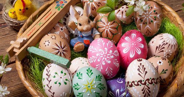 Velikonoční kraslice můžete krásně a originálně ozdobit.