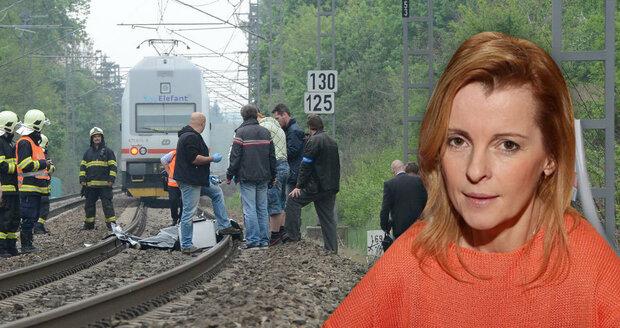 Iveta Bartošová spáchala sebevraždu skokem pod vlak.