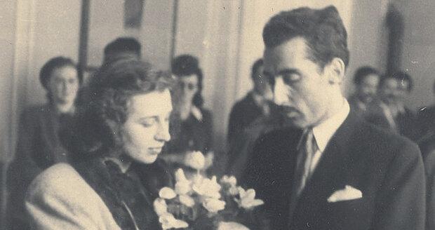 Stella Zázvorková se casó con Miloš Kopecký poco después de la guerra