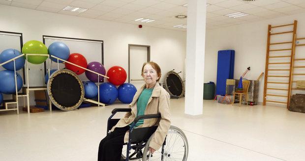 Tělocvična pro pacienty s protézou