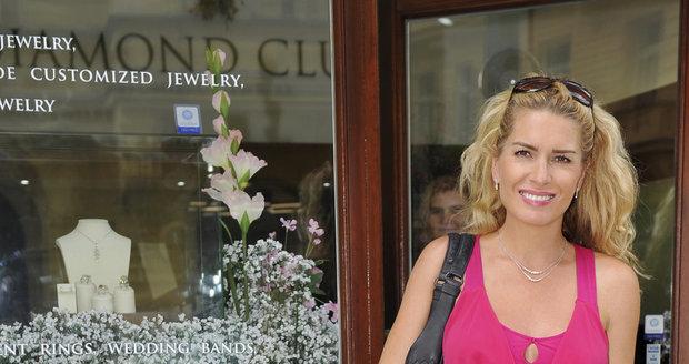 Menzelová už má do Varů šperky vybrané.