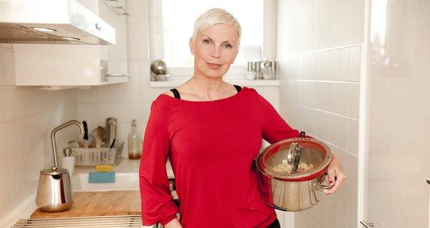 Kateřina Kornová ráda vaří