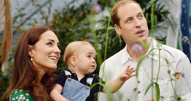 Kate a William chtějí velkou rodinu. Královští doktoři jim to ale nedoporučují