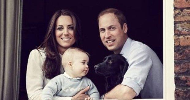 Letos se Kate a William rozhodli trávit svátky pouze ve třech.