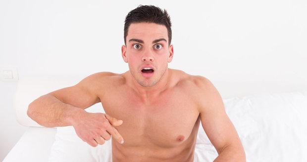 Soutěživost mužů zasahuje také do jejich sexuálního života.