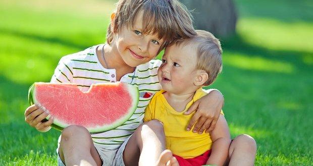 Celostátní projekt Ovoce a zelenina do škol má vést děti ke zdravému stravování i k osvojení si hygienických návyků. (ilustrační foto)