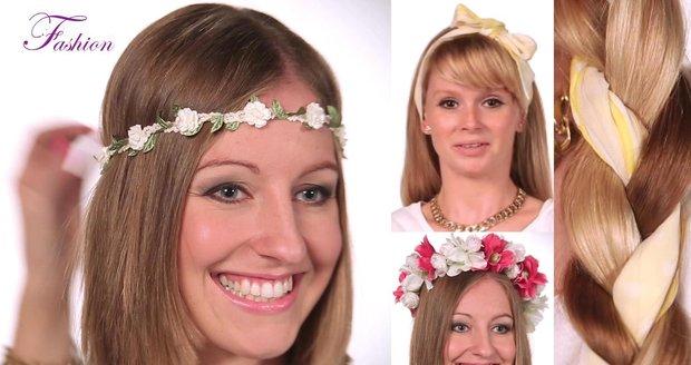 Zpěvačka Mista vám tentorkát poradí, jaké vlasové doplňky letos frčí.