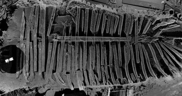 Přes 200 let stará loď byla ukrytá pod bývalým Světovým obchodním centrem!