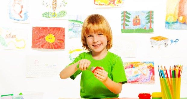 Dětský pokoj má být barevný, ale oči by z jeho pestrosti přecházet neměly.