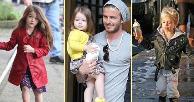 Podívejte se na nejstylovější děti slavných osobností. Mají šaty za desetitisíce, v puse dudlík a v ruce plyšáka.