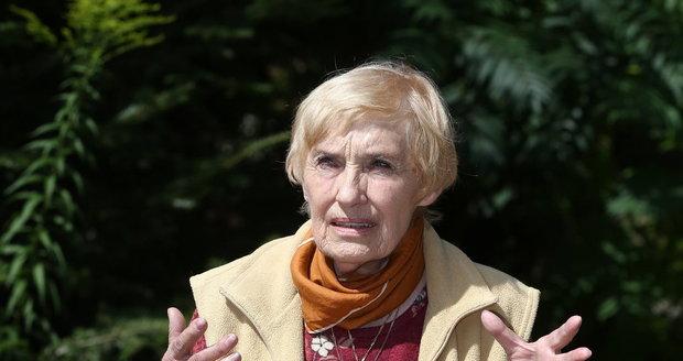 """Manželka Andulka Sováková vzpomíná na svého manžela s úsměvem. """"Byl to líbezný cholerik."""""""