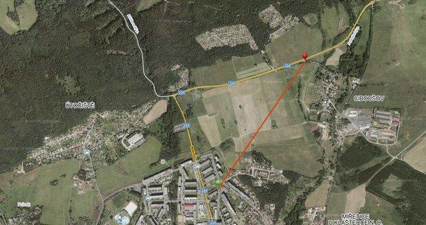 Tělo dívenky se našlo zhruba ve vzdálenosti jednoho kilometru od domova
