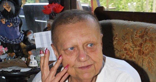Boj o život herečka prohrála 4. ledna 2004