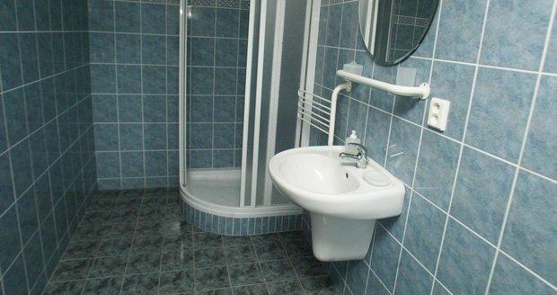 Koupelna ve vile.