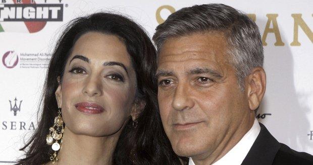 Manželé Amal a George Clooneyovi.