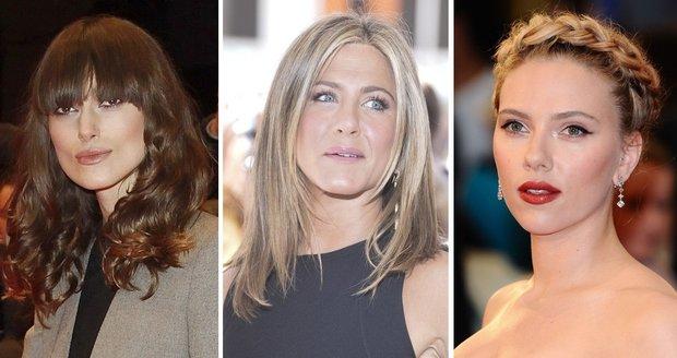 I celebrity občas šlápnou vedle a rozhodnou se pro účes, který jim příliš nesedne
