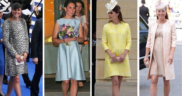 Kate je módní ikona.