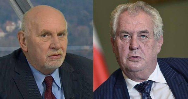 Zeman by za prezidenta volil předsedu Ústavního soudu Pavla Rychetského