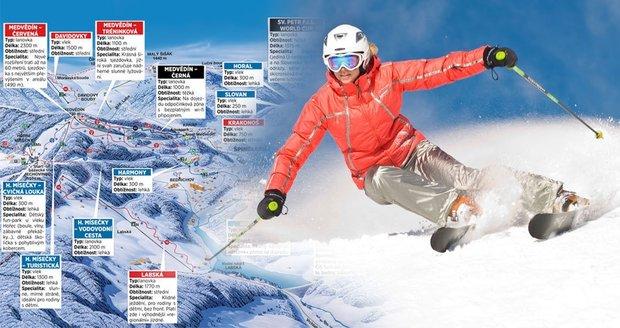 Nejlepší lyžování? S Bleskem si tady všude zajezdíte v Česku levněji!