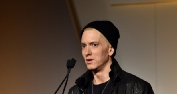 Eminem vypadal pohuble a unaveně