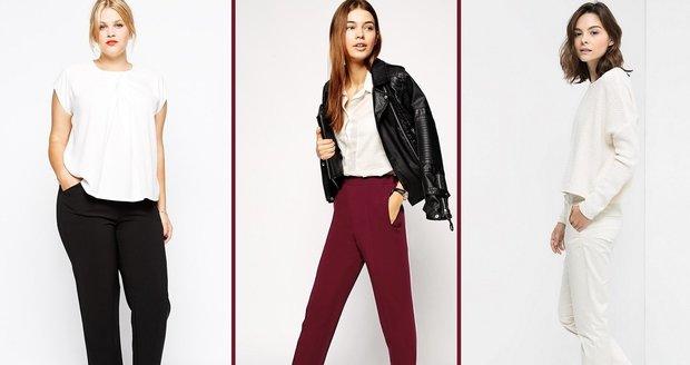 Díky správnému střihu kalhot budete vypadat skvěle!