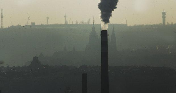 Zákaz topení uhlím v Praze: Od příštího roku a ve vybraných kotlích