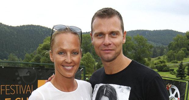Zuzana Belohorcová a její manžel Vlasta Hájek