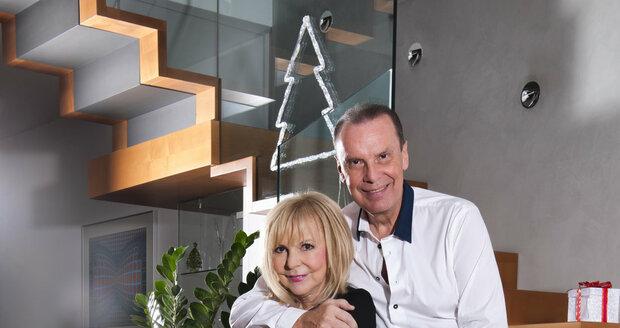 Jak Vánoce prožijí Hana Zagorová (68) a Štefan Margita (58)?