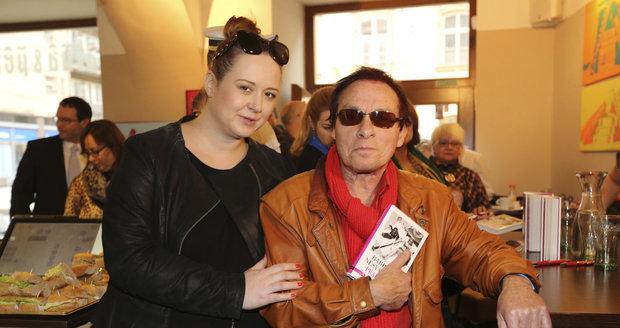 Jan Saudek se svou manželkou Pavlou