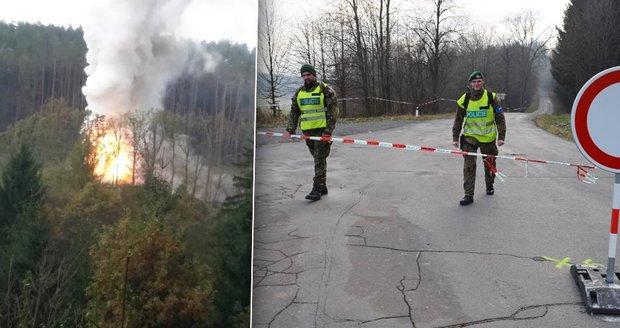 Muniční sklad ničí lidi z okolí Vrbětic: Za zády nám vybuchují granáty, naše pozemky jsou bezcenné!