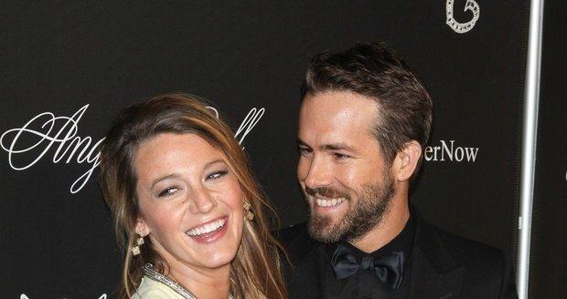 Blake Lively a Ryan Reynolds přivedli na svět své první dítě