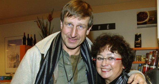 Manželé Jana Boušková a Václav Vydra
