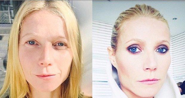 Gwyneth Paltrow před a po