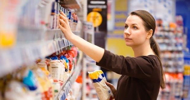 Při nákupu potravin sledujte i to, jaká je jejich energetická hodnota.