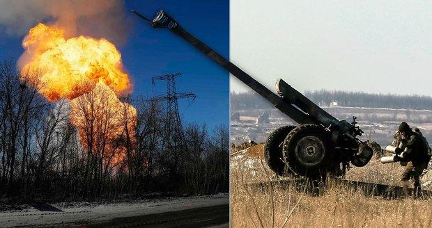 Výbuch plynovodu a boj v ulicích: Čelíme masakru, tvrdí ukrajinský voják