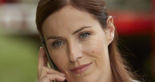 Soňa Norisová hraje v seriálu Policie Modrava hlavní vyšetřovatelku.